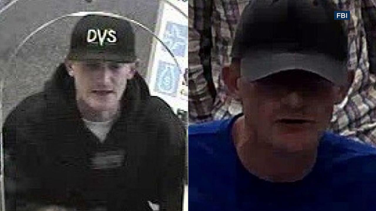 The FBI is looking for a Southern California armed bank robbery suspect nicknamed The Bladed Bandit.