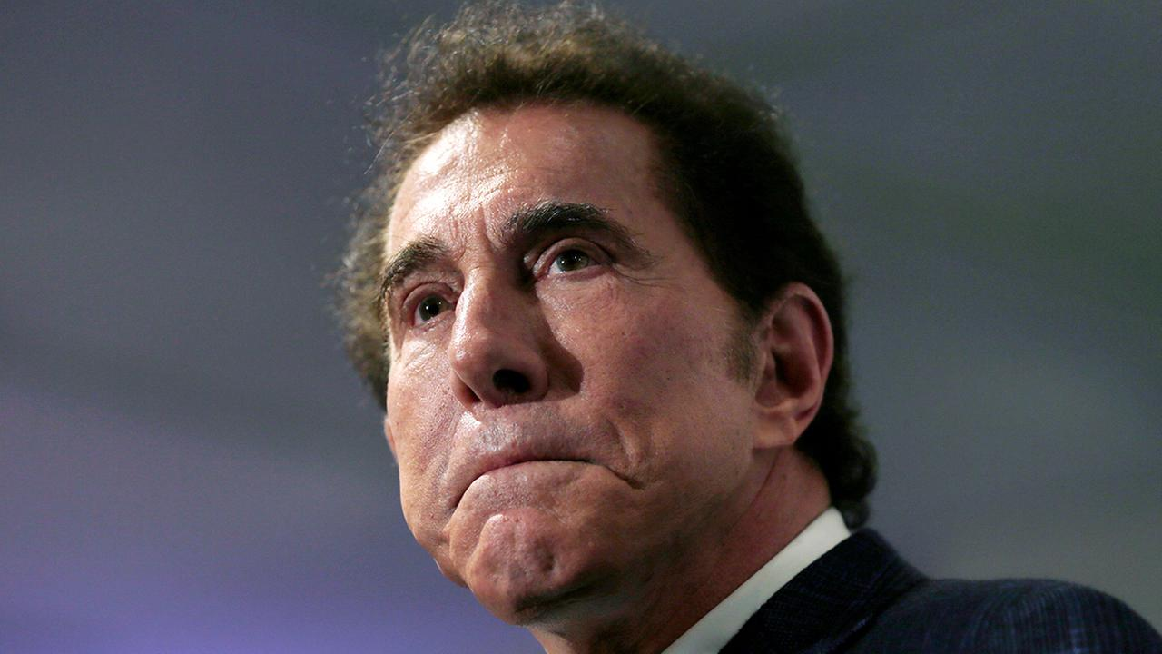 This March 15, 2016, file photo, shows casino mogul Steve Wynn at a news conference in Medford, Mass.