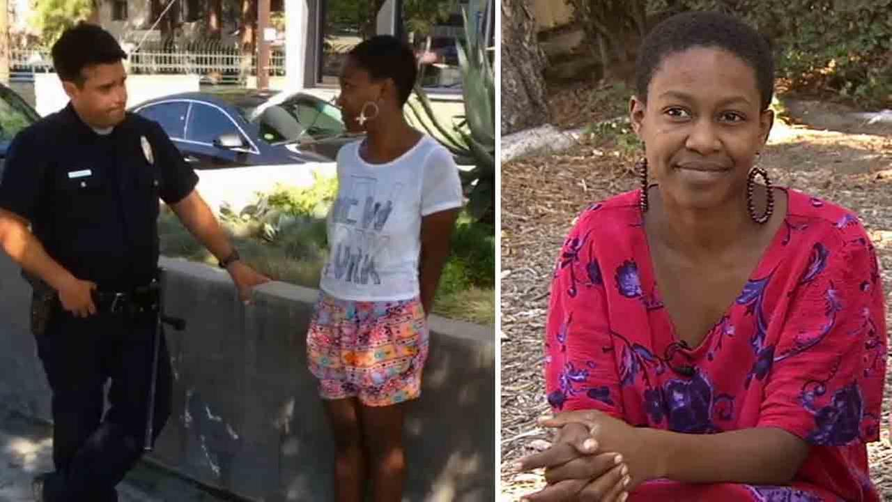 Django Unchained actress Daniele Watts was handcuffed Thursday, Sept. 11, 2014 in Studio City after she claims she was accosted by LAPD officers who mistook her for a prostitute.