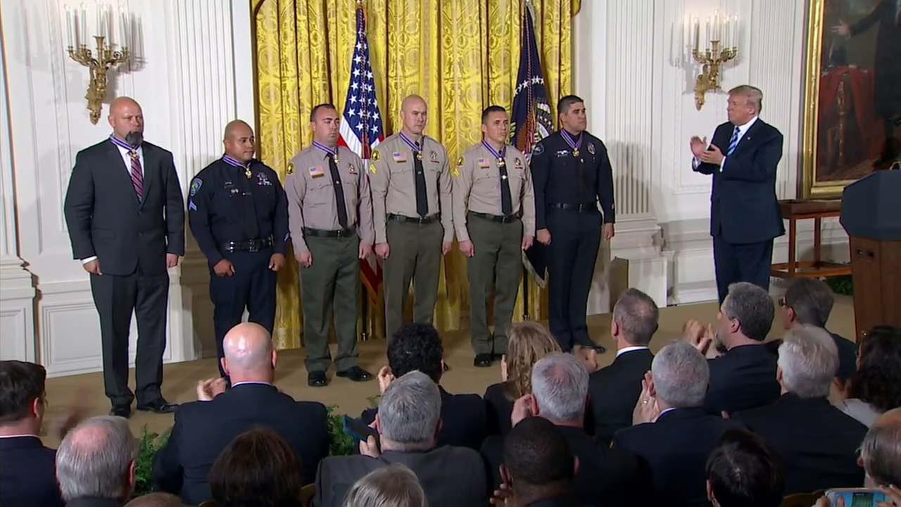 President Trump hosts Public Safety Medal of Valor awards ceremony