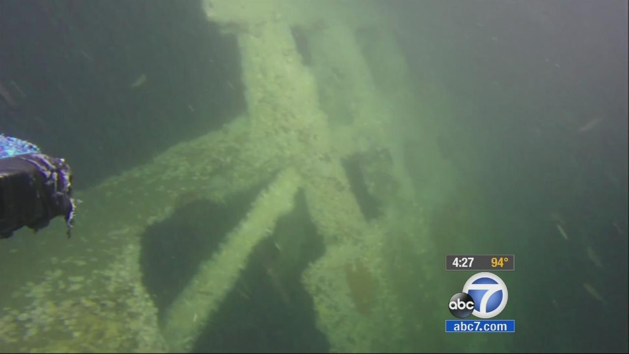Federal researchers are exploring underwater sites where ships sank while navigating in the waters west of San Francisco following the Gold Rush.