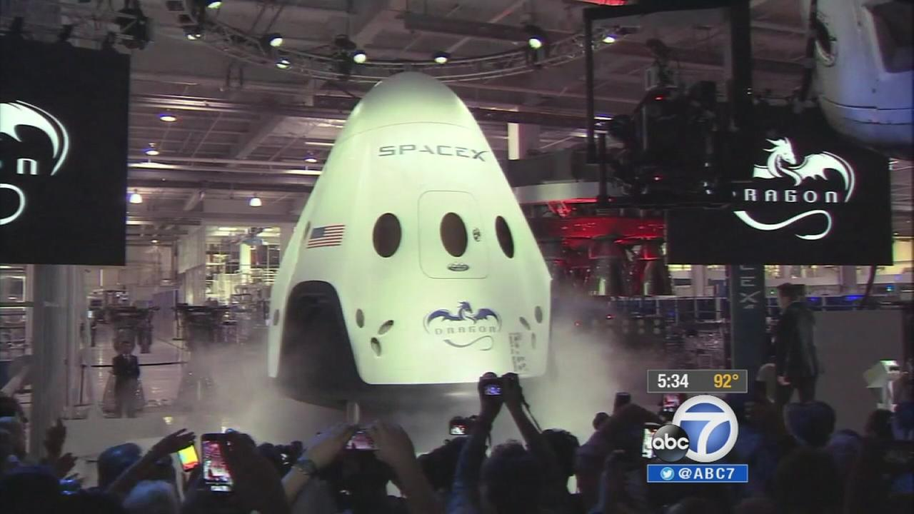 NASA is a giant step closer to again launching Americans from U.S. soil.