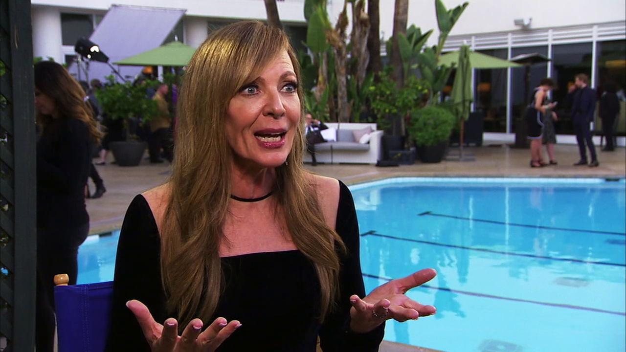 Allison Janney, nominated for an Oscar for I, Tonya, is grateful that her friend screenwriter Steven Rogers insisted she get the part.