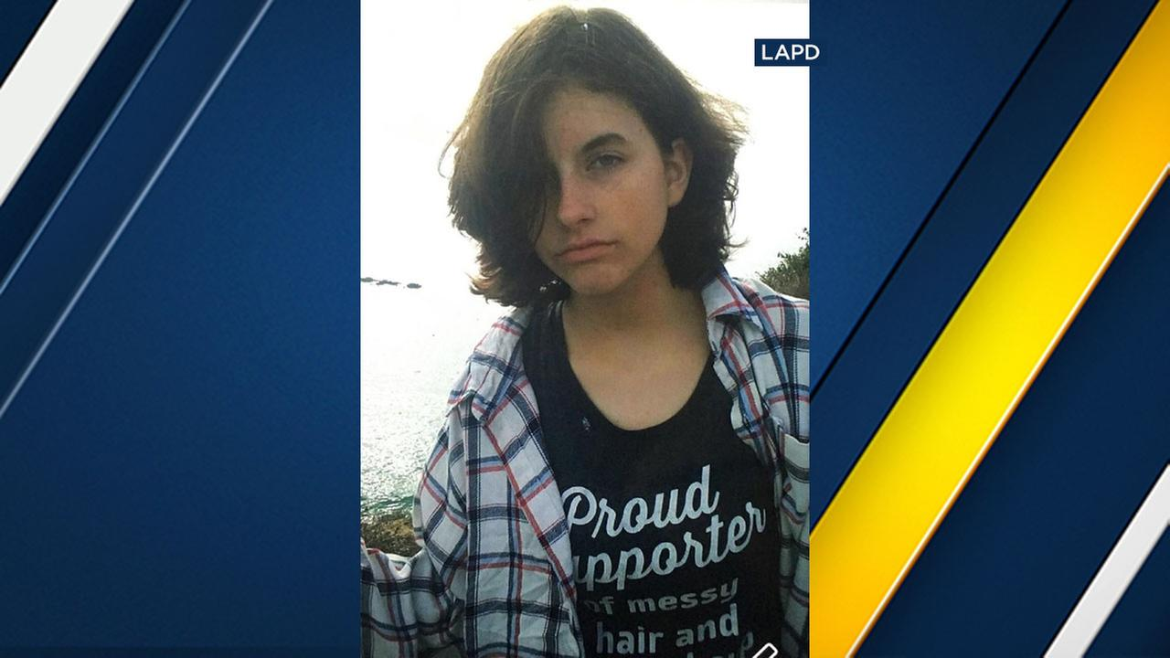 Shannon OConnor, 16, is missing from the North Hollywood area.