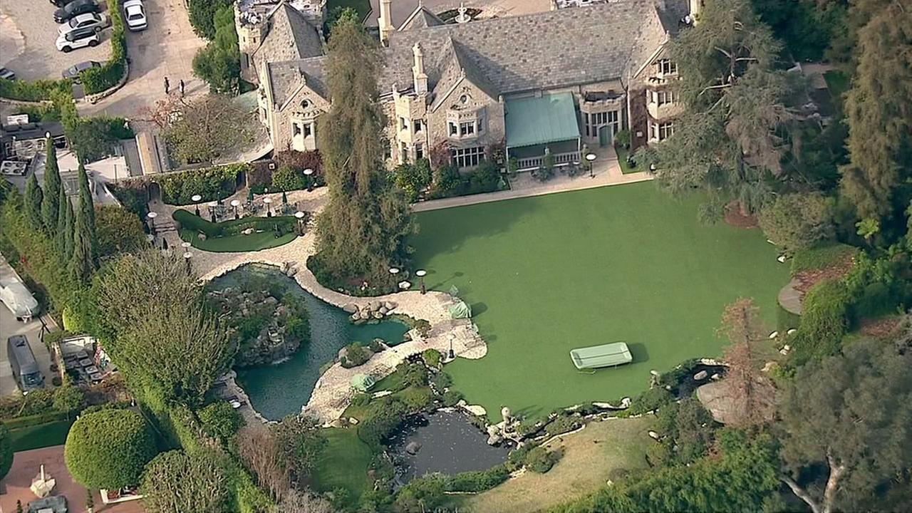 Hugh Hefner bought the Playboy mansion in 1971 and lived there until his death in 2017.