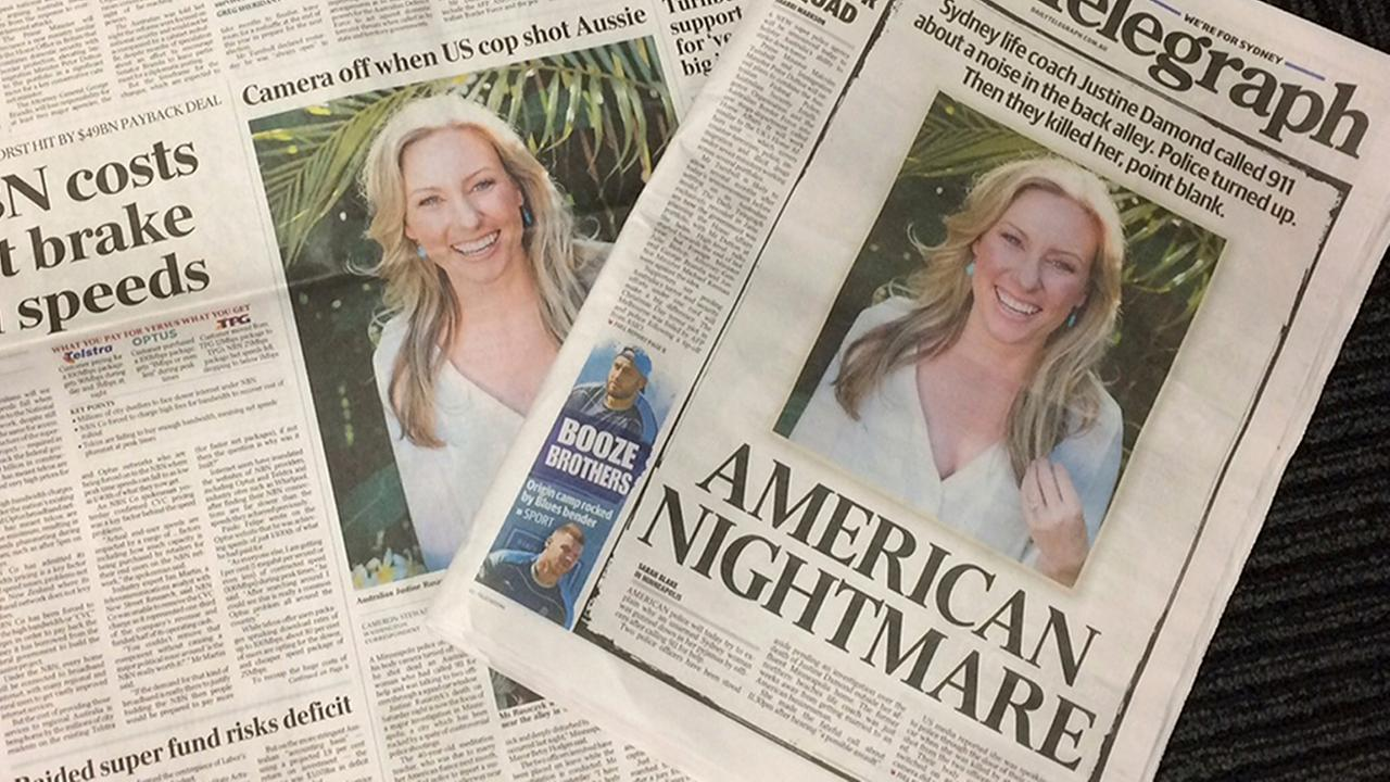 Justine Damond shooting: United States policeman charged with murder