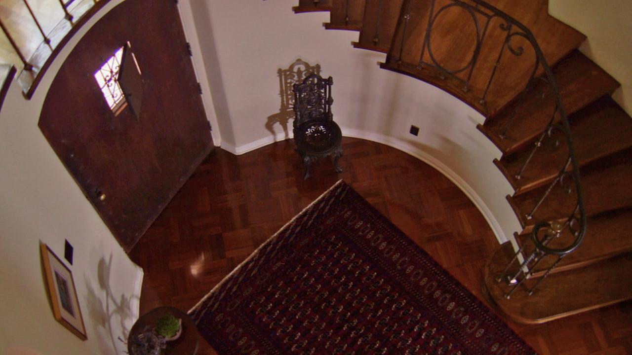 A rare look at Walt Disneys former home in Los Feliz.KABC