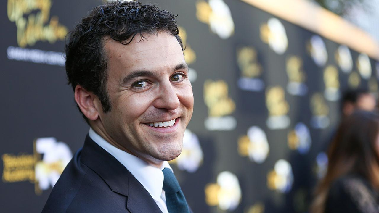 Fred Savage arrives at the Television Academys 70th Anniversary at The Television Academy on Thursday, June 2, 2016, in Los Angeles.