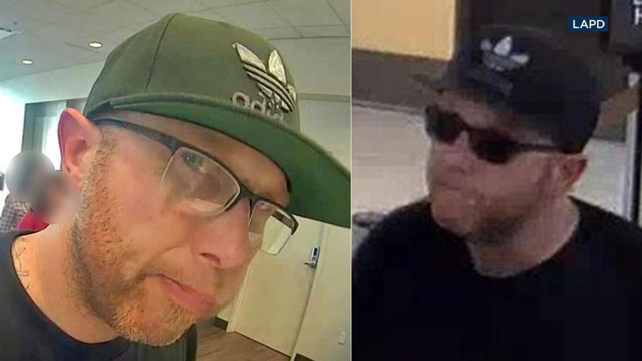 Police say Patrick Robert Day, 42, is the Ginger Bandit who robbed three San Fernando Valley banks on March 5, 2018.