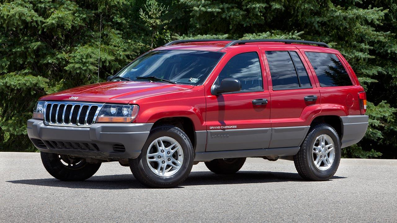 This undated file photo provided by Chrysler shows the 2002 Jeep Grand Cherokee.