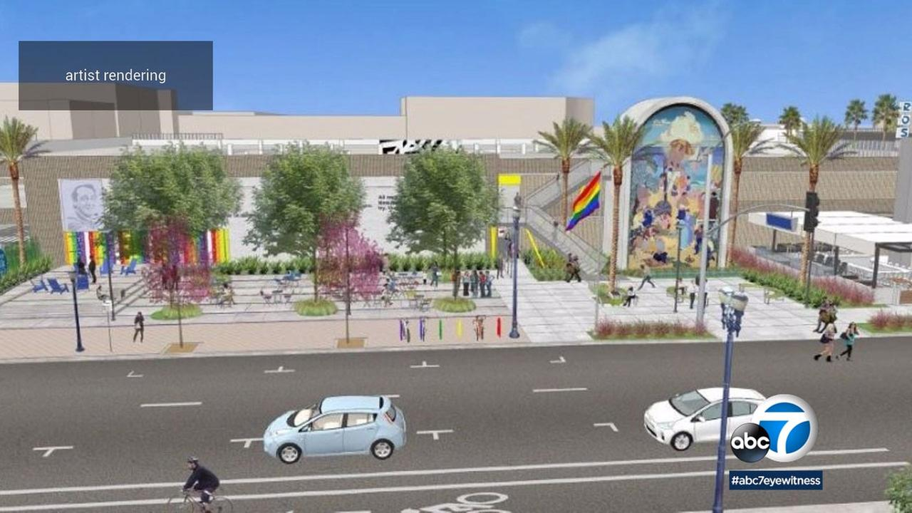 Construction has begun in Long Beach on a re-envisioned Harvey Milk Park.