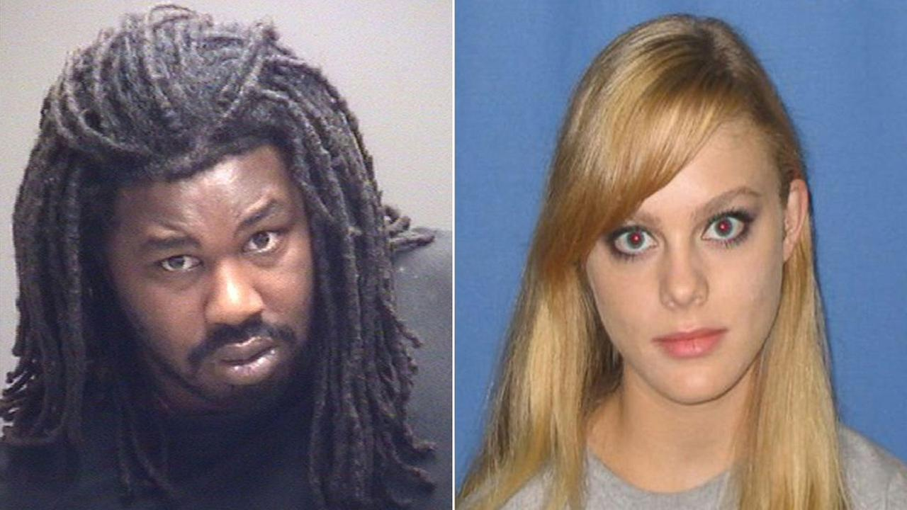Virginia State Police have confirmed a forensic link between Jesse L. Matthew Jr. (pictured left), the suspect in the disappearance of University of Virginia student Hannah Graham, and the death of Morgan Harrington (seen right), a Virginia Tech student.