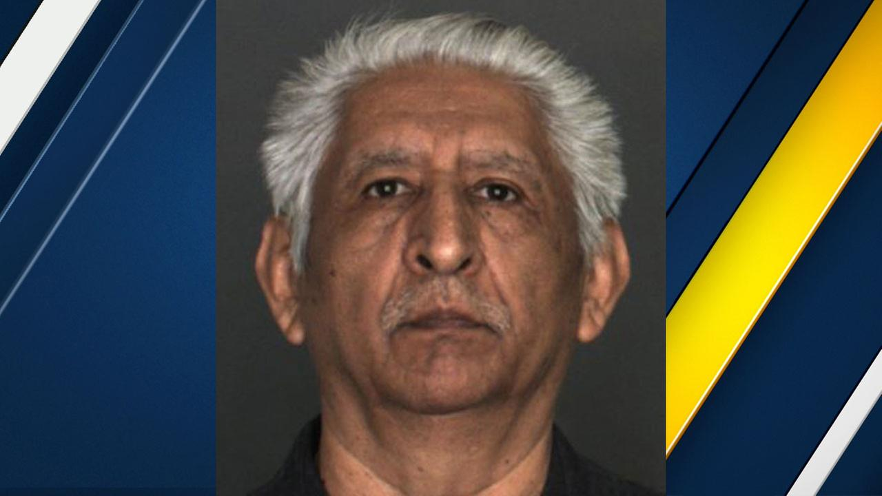Jose Cuevas, 65, of Rialto, is shown in a mugshot.