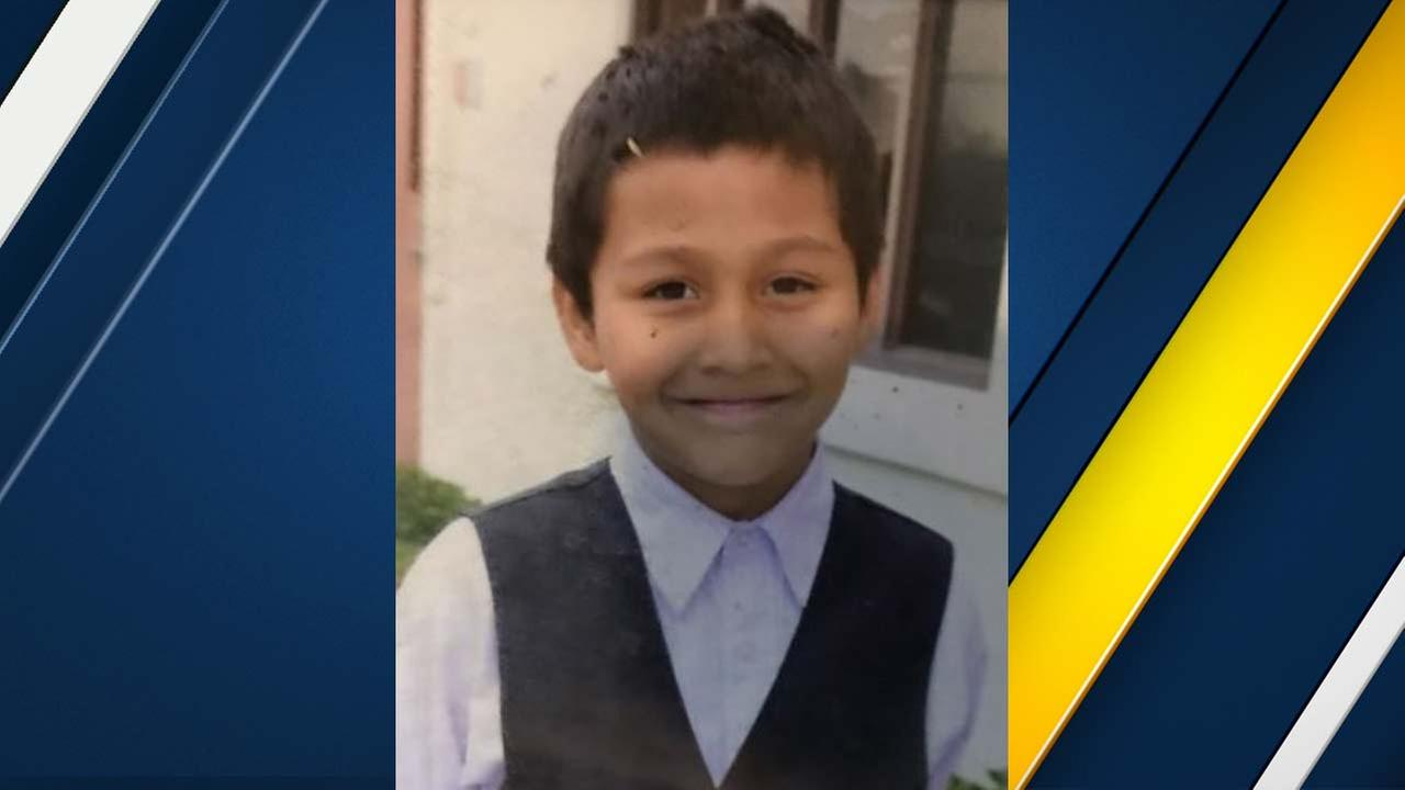 Cesar Daukantas, 11, is seen in an undated photo from Oceanside police.