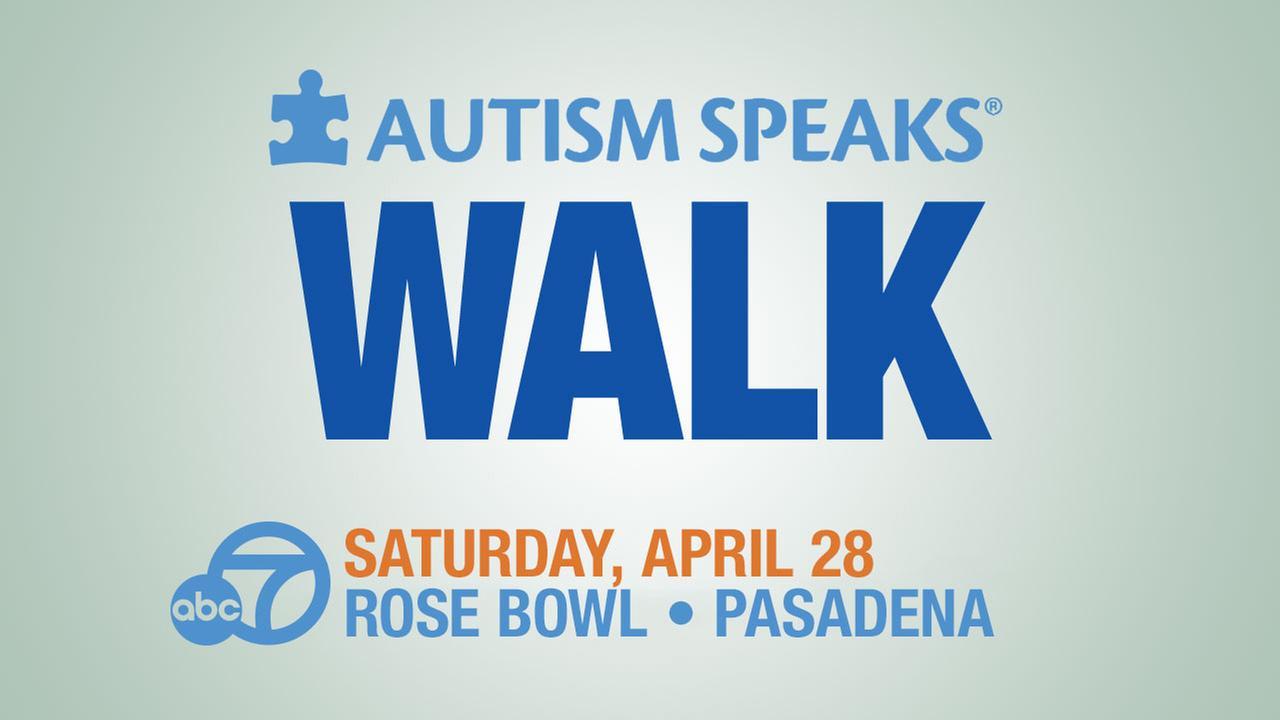 Autism Speaks Walk at Rose Bowl in Pasadena