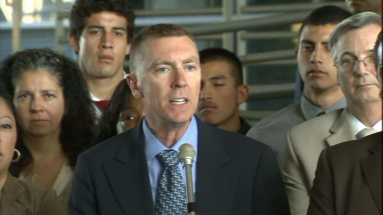 LAUSD Superintendent John Deasy is seen in this undated file photo.