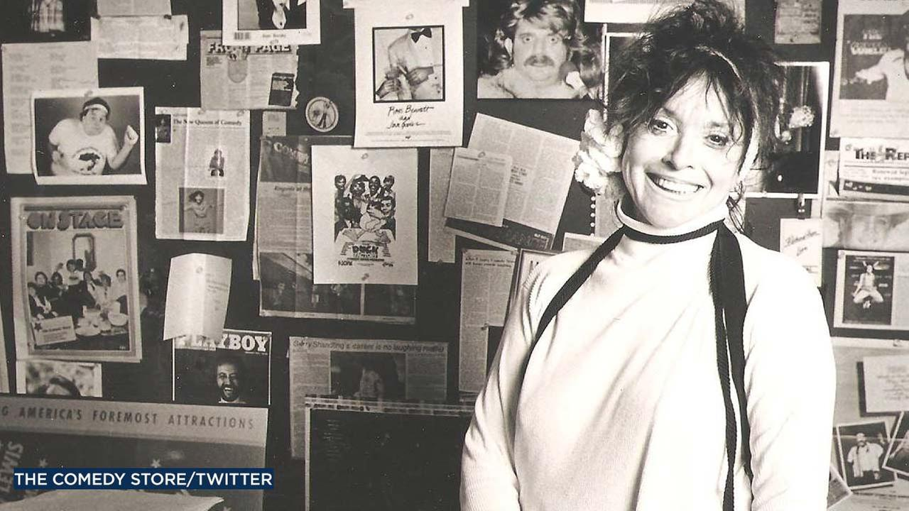Mitzi Shore is seen in an undated file