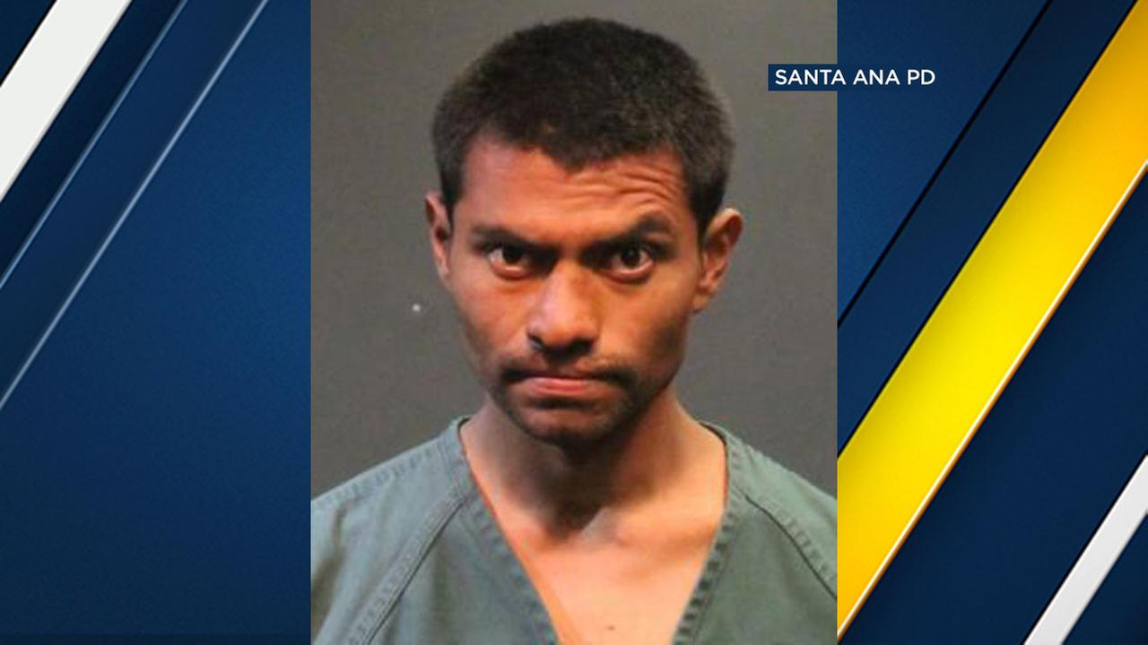 Isaias Vargas-Martinez, 26, is a suspect in two burglaries at the same condo in Santa Ana.