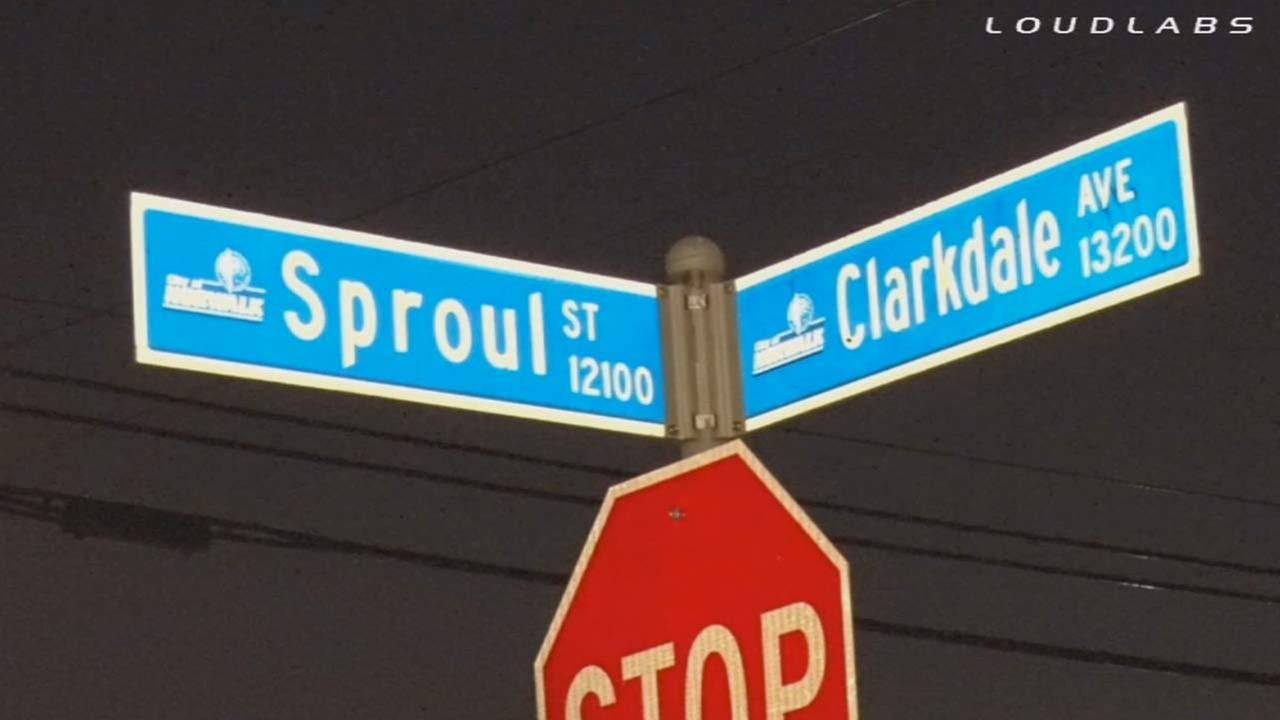 Fetal human remains were found on the 12100 block of Sproul Street about 5:55 p.m. Tuesday, Sept. 30, 2014.