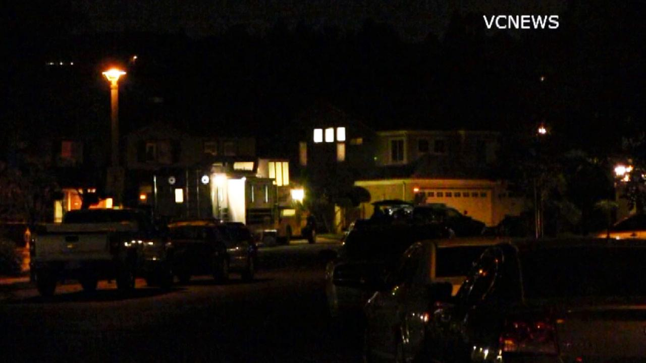 Ventura County sheriffs deputies found two dead adults at a residence on the 1600 block of Calle Rochelle in Thousand Oaks Thursday, Oct. 2, 2014.