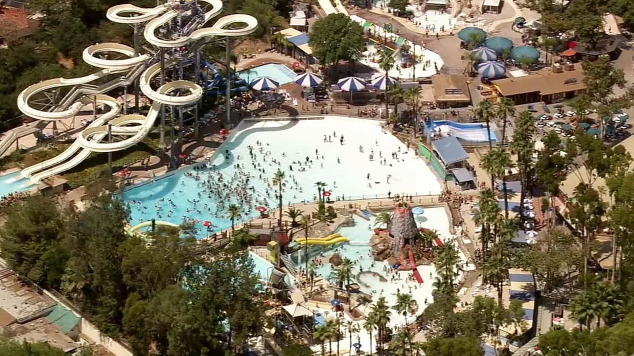 Raging Waters in San Dimas is shown in this undated file photo.