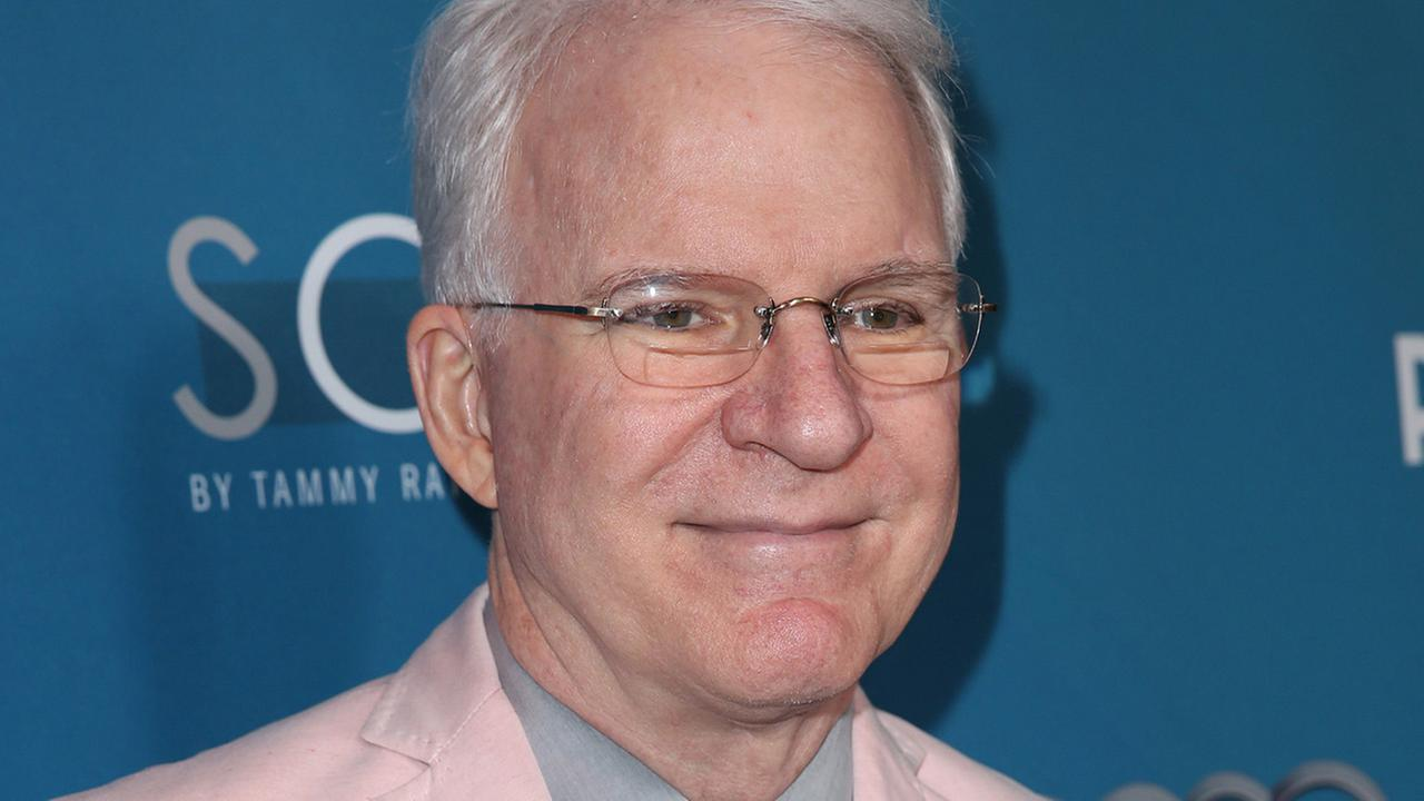 Steve Martin arrives at Backstage At The Geffen Gala on Saturday, March 22, 2014, in Los Angeles.