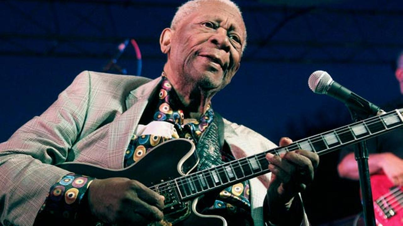 In this file photo taken Aug. 22, 2012, B.B. King performs at the 32nd annual B.B. King Homecoming.