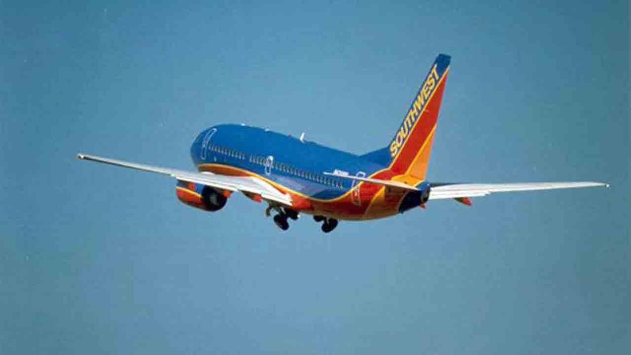A Southwest Airlines plane is seen in this photo.