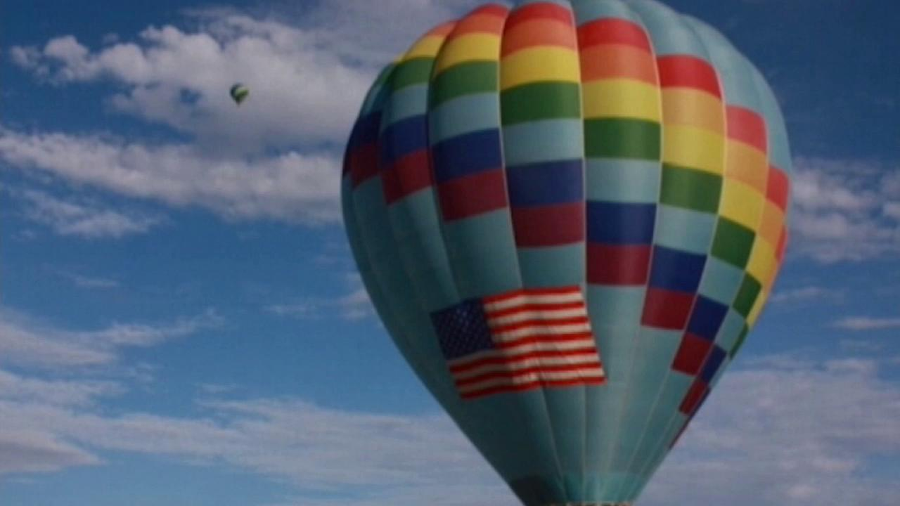 A hot air balloon was stolen from a hotel parking lot on Saturday, Oct. 4, 2014, ahead of the Albuquerque International Balloon Fiesta.