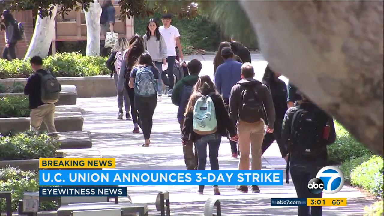 Tens of thousands of University of California workers are planning to strike next month over contract negotiations.