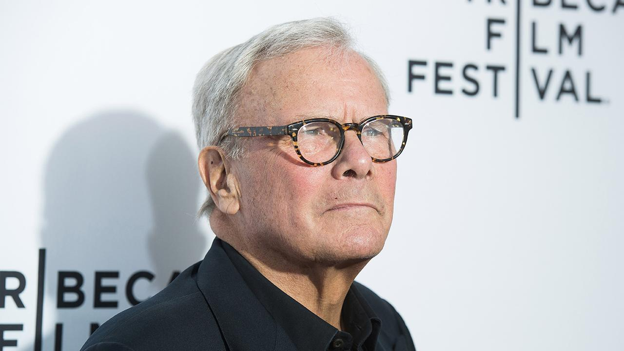 Tom Brokaw attends the 2015 Tribeca Film Festival opening night premiere of Live From New York! at The Beacon Theatre on Wednesday, April 15, 2015, in New York.