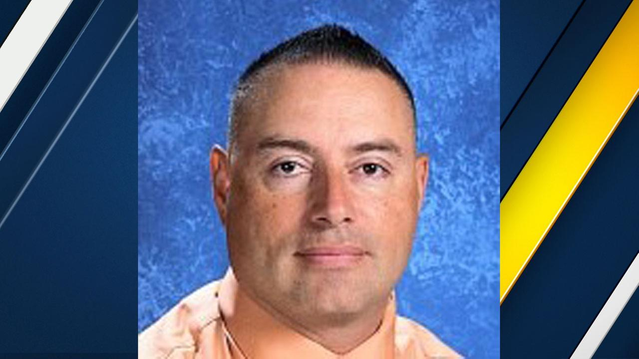A photo of Carlos Munguia, a La Puente teacher accused of molesting five students.