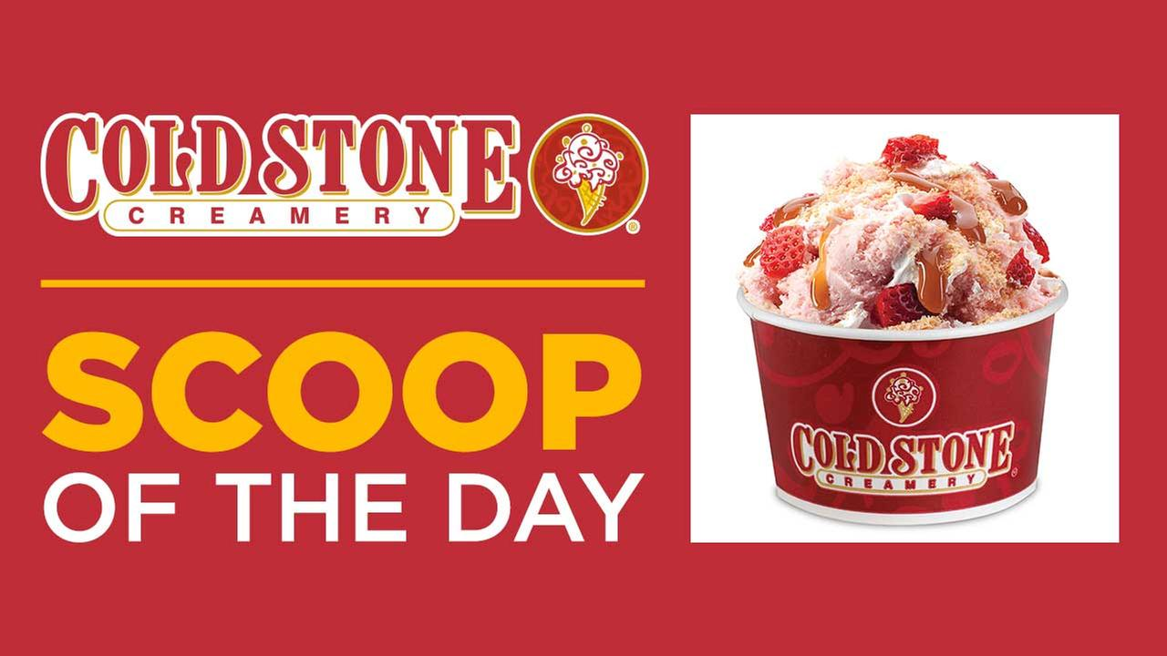 Watch ABC7 at 3 p.m. for a chance to win a $100 Cold Stone Creamery gift card!