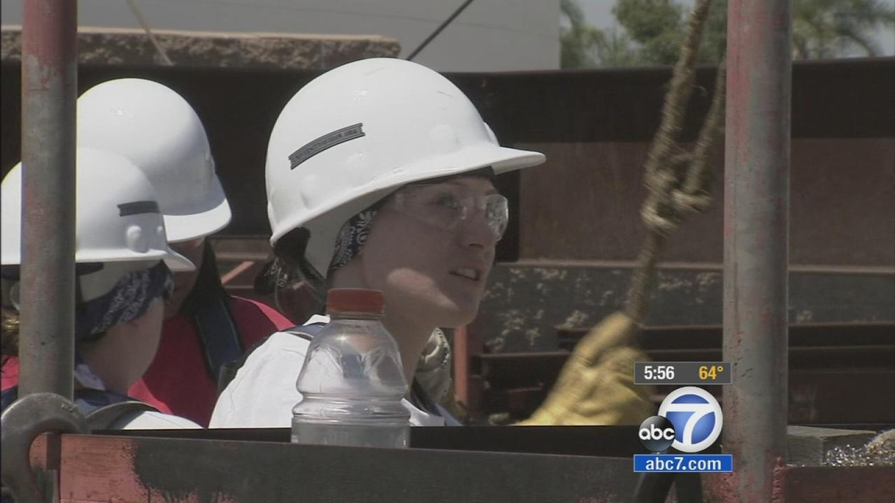 Theres a new pilot program in Orange County aimed at getting women into iron working