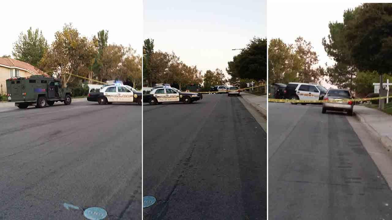 A Riverside County Sheriffs SWAT team was summoned to a barricade situation in the 31000 block of Monique Circle in Temecula Saturday, Oct. 11, 2014.
