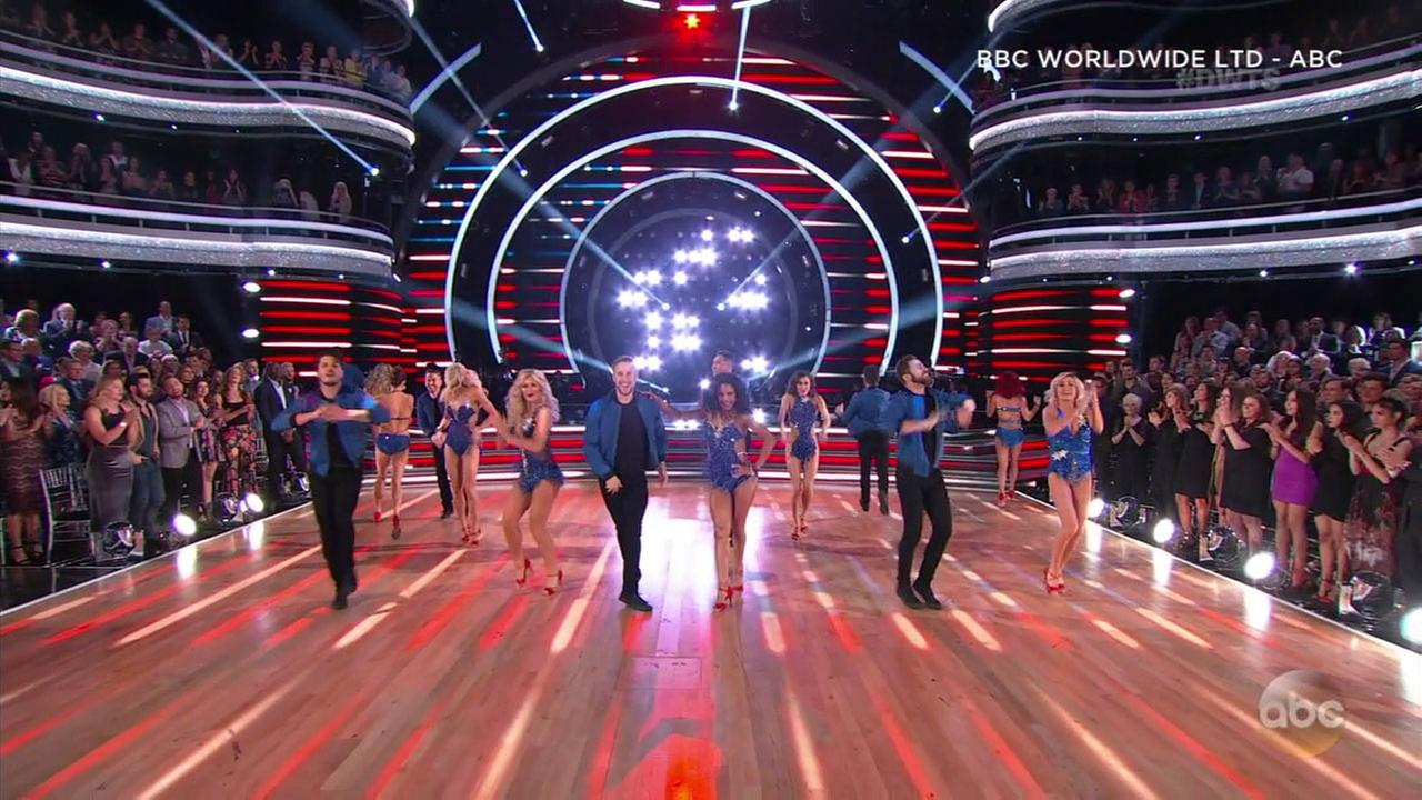 Dancing with the Stars eliminated three couples, with three more remaining as the all-athletes season heads into the finale.
