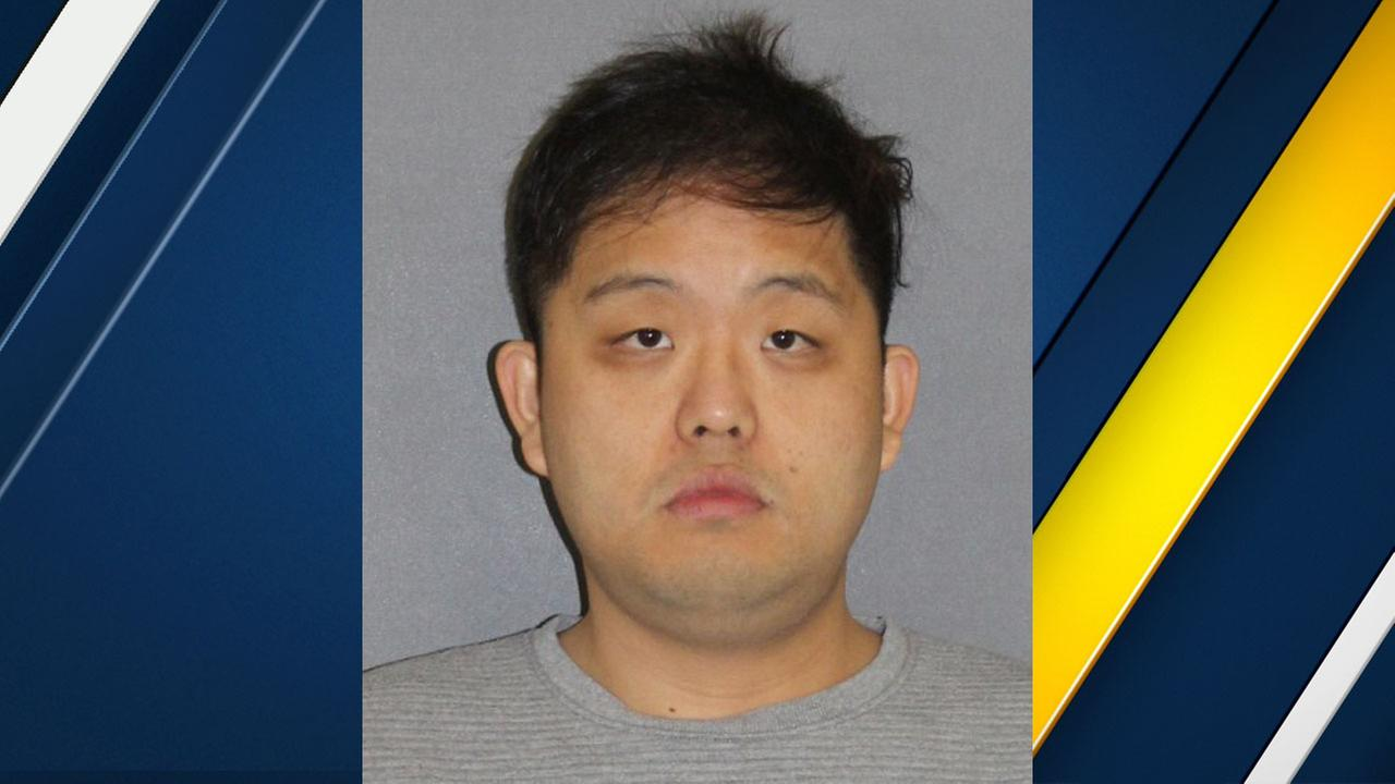 Peter Kwon, 32, of Irvine, is shown in a mugshot.