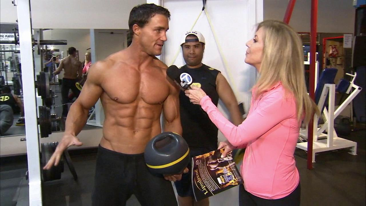 Greg Plitt, creator of the Metaball, talks to Food and Fitness Coach Lori Corbin about the new fitness tool on Monday, Oct. 13, 2014.