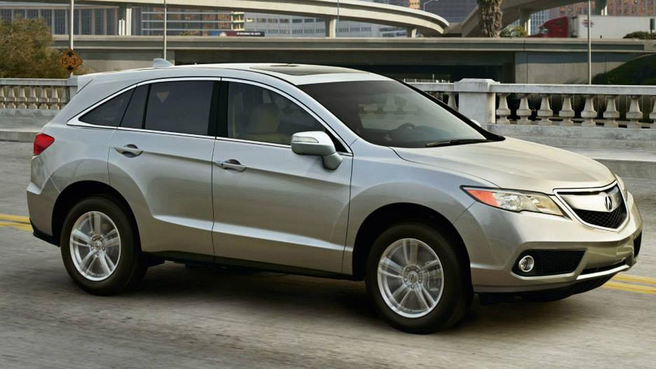 Acura, the luxury car maker owned by Honda Motor Co., recalls 43,000 cars including 2014 and 2015 Acura MDX models as pictured above for seat belt issues on Monday, Oct. 13, 2014.