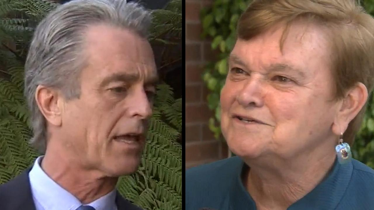 Bobby Shriver (left) and Sheila Kuehl are vying to be the District 3 county supervisor, which serves the Westside and the Valley.
