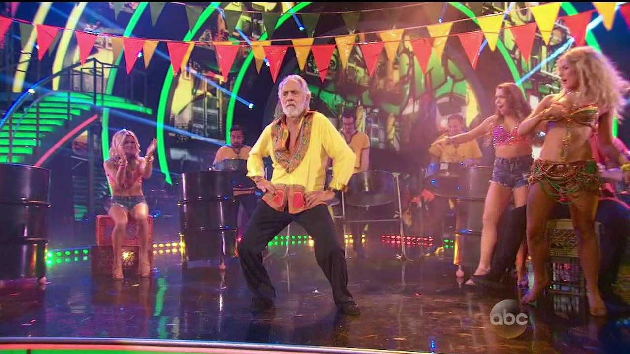 Tommy Chong performed the Mambo during week 5 of Dancing With The Stars.