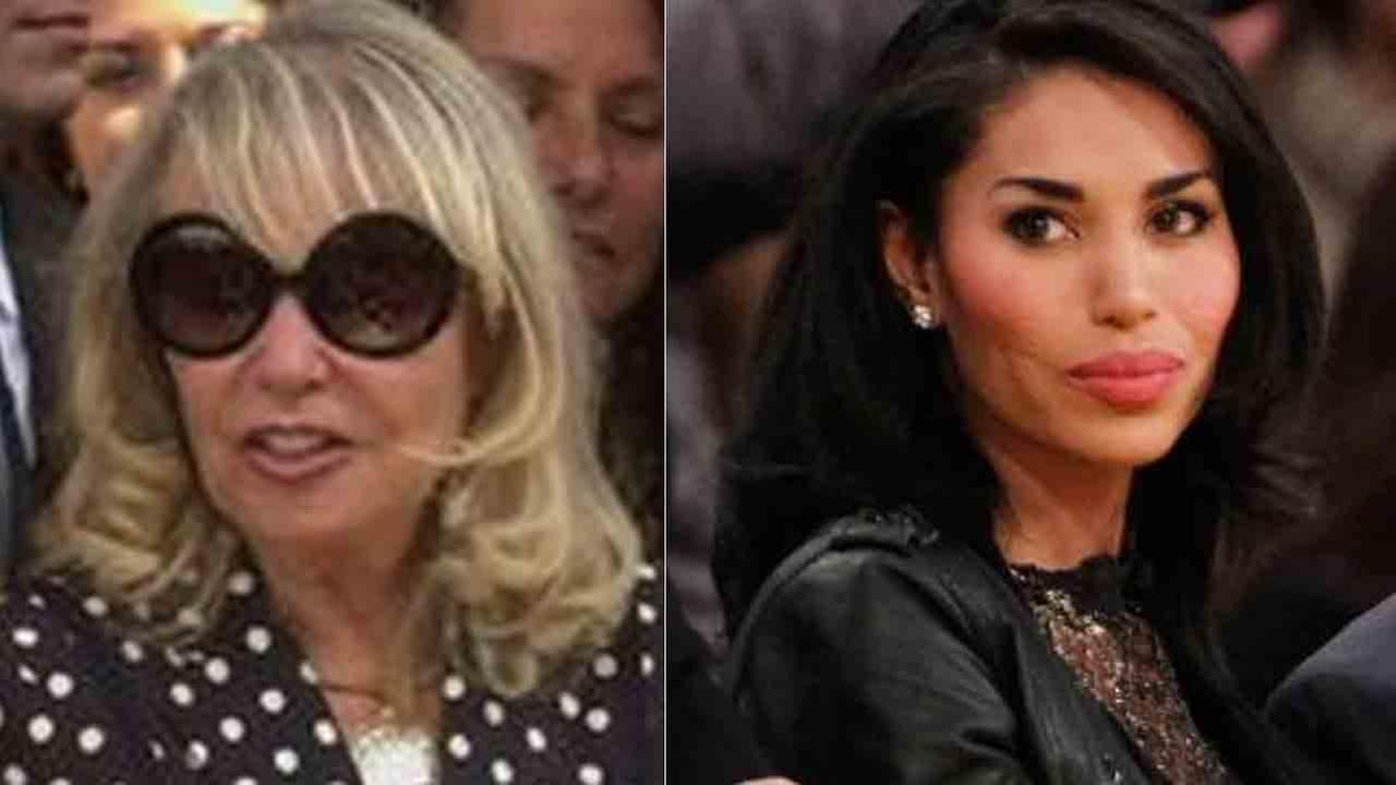 Shelly Sterling (left) and V. Stiviano (right) are seen in these file photos.