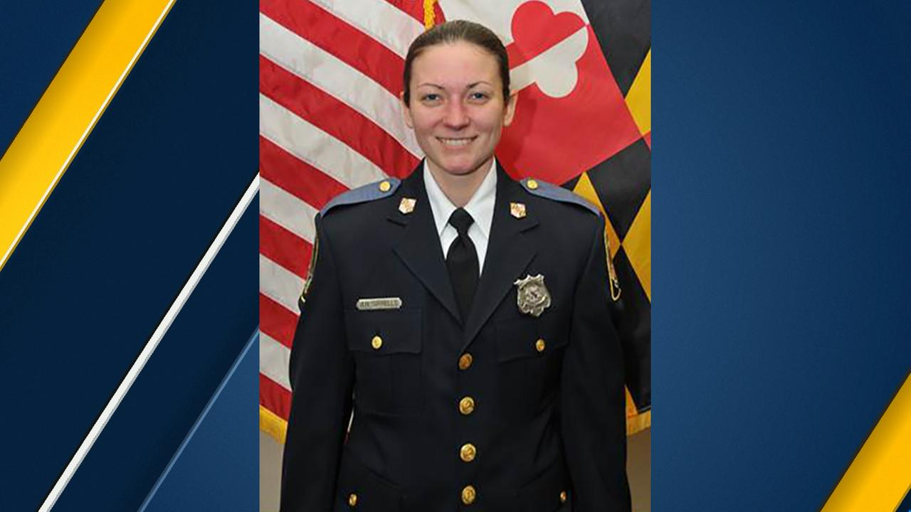 Baltimore County Police Officer First Class Amy Caprio is seen in an official photo.
