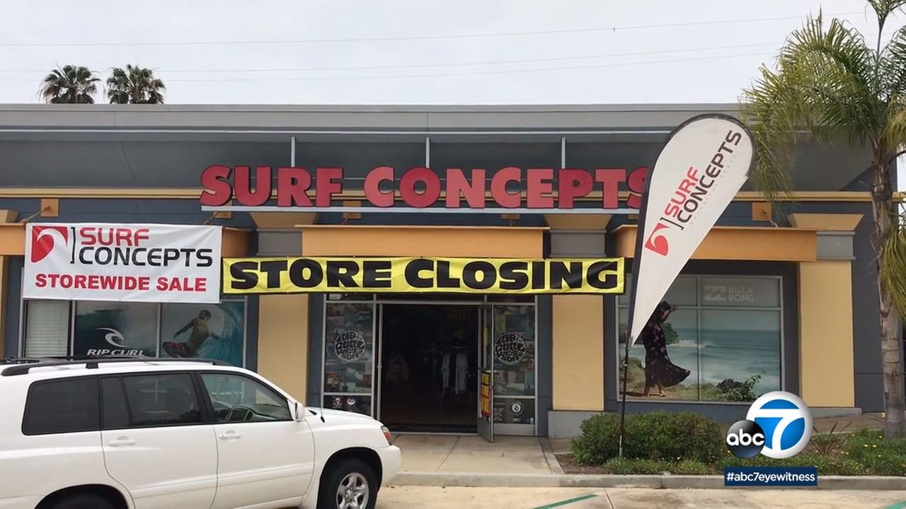After 29 years, Surf Concepts in Manhattan Beach is closing.
