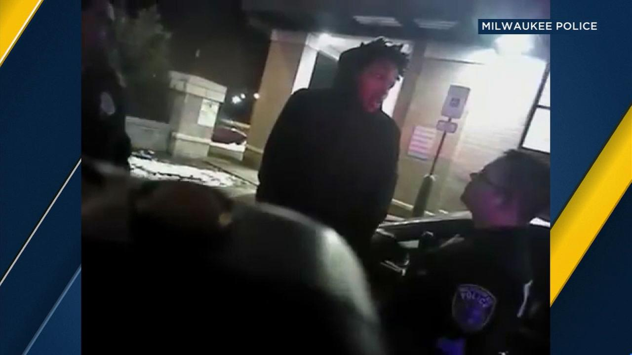 The arrest of Milwaukee Bucks player Sterling Brown was captured on police bodycam video.