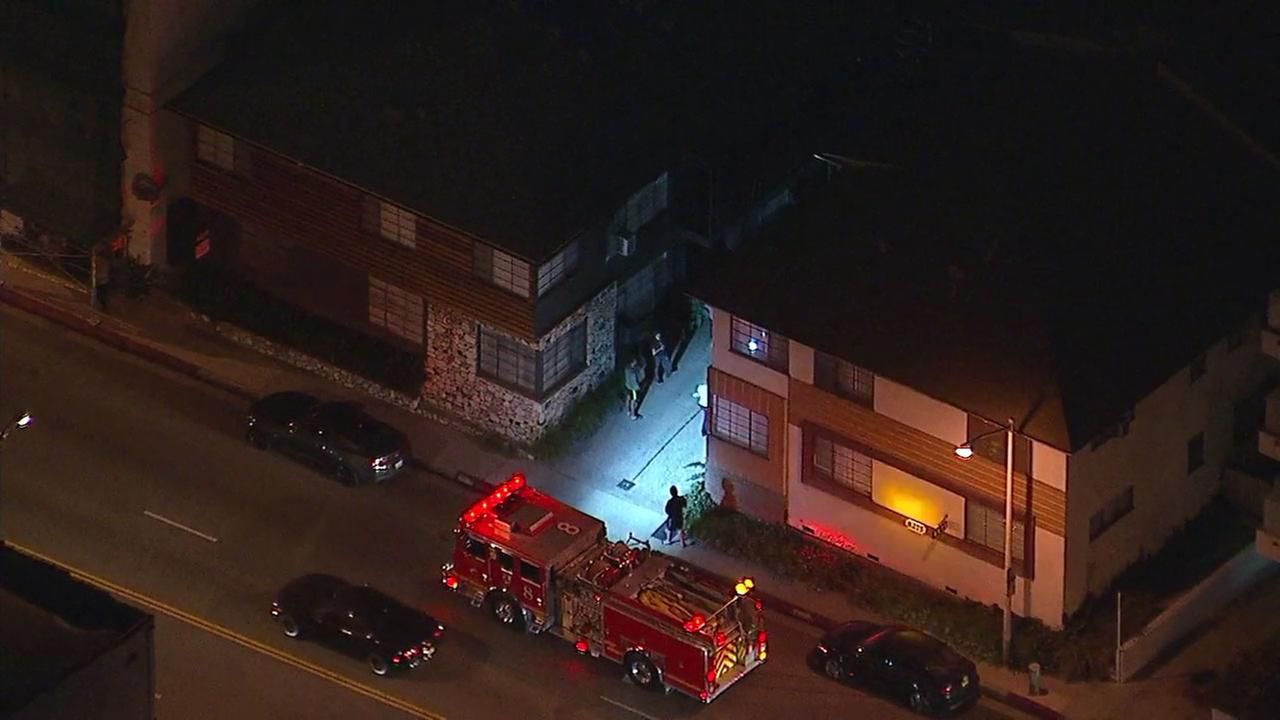 Firefighters responded to the scene of a possible transformer explosion causing a power outage in West Hollywood.
