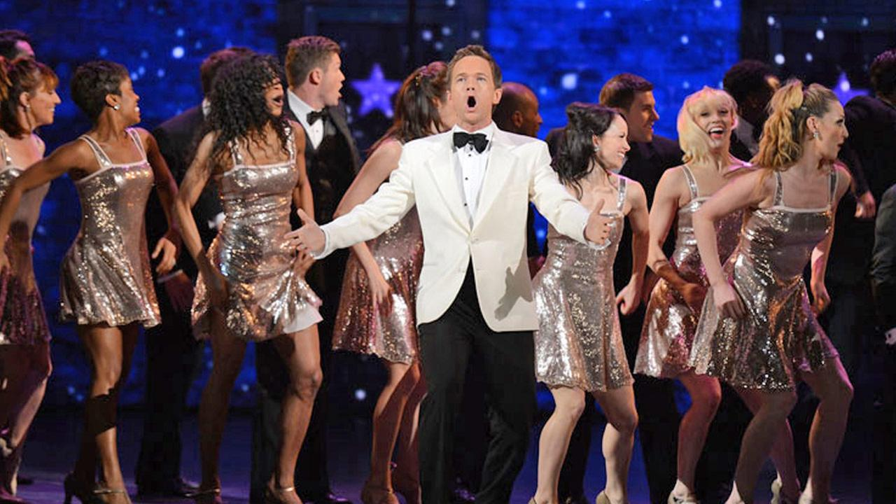 Neil Patrick Harris appears in his opening number for the 2012 Tony Awards.