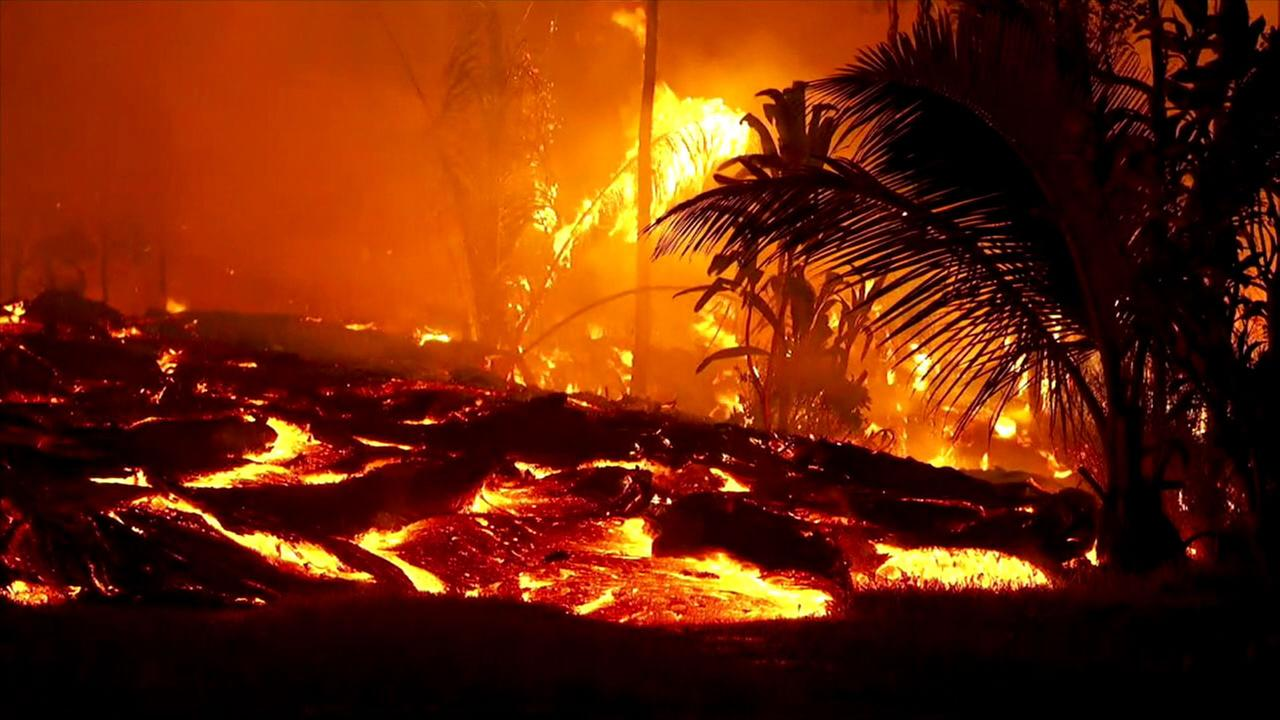 Hawaii Volcano Destruction Toll Now At 51 Homes Abc7 Com