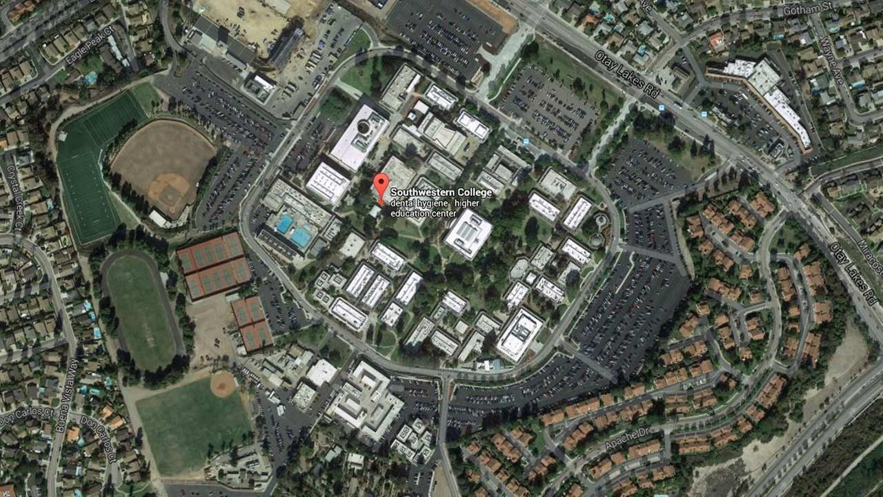 Southwestern College is seen in this Google Maps image.