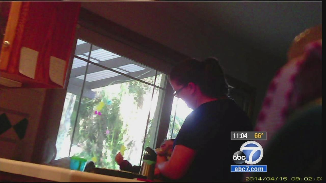 A Redlands mother has come forward, saying she caught her nanny on camera allegedly abusing her child.